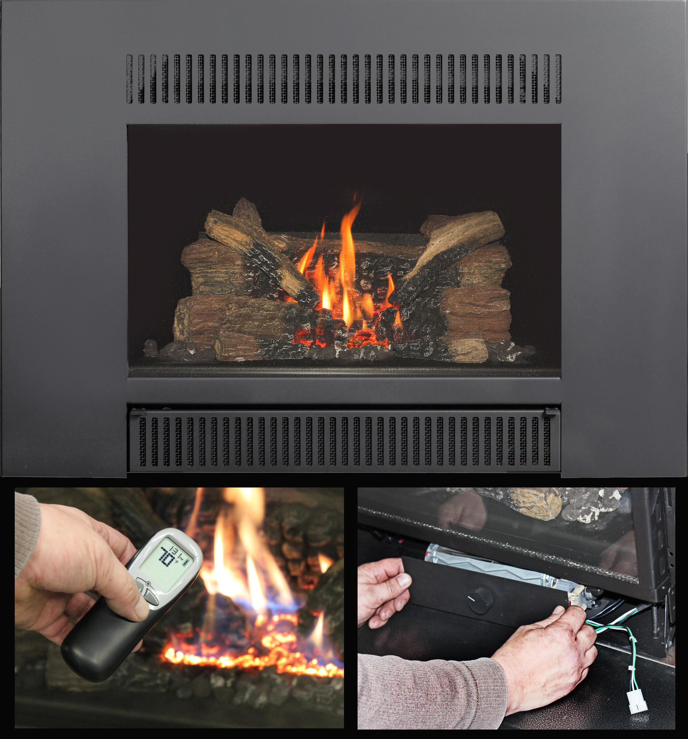 the up and coming radiant plus gas insert travisdealernews